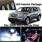 Classy Autos Honda PILOT White Interior LED Package (11 Pieces)
