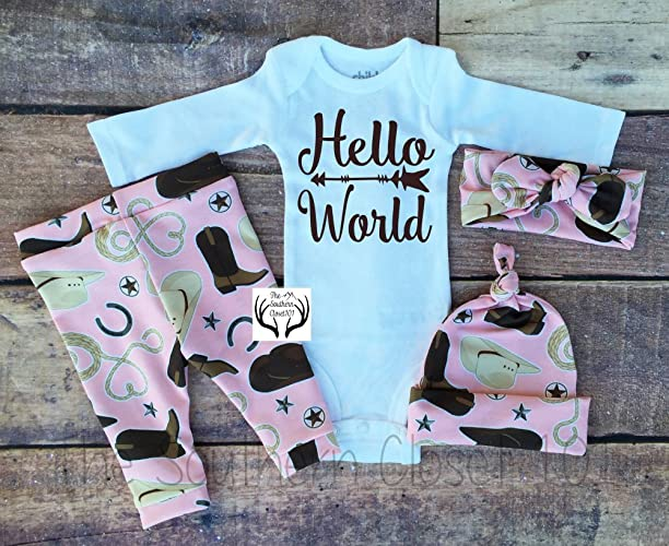 26b281349 Amazon.com  Baby Girl Coming Home Outfit