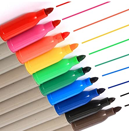 6 pcs/set Color highlighter pens marker Fluorescent liner highlight  Scrapbooking Office School supplies caneta