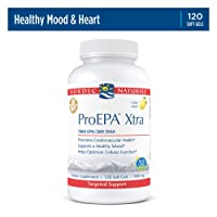 Nordic Naturals ProEPA Xtra- Fish Oil, 1060 mg EPA, 260 mg DHA, Targeted Support for Cardiovascular Health, a Healthy Mood, and Optimal Cellular Function, Lemon Flavored, 120 Soft Gels
