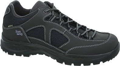 Hanwag Gritstone II Wide GTX Shoes Herren AsphaltBlack 2019