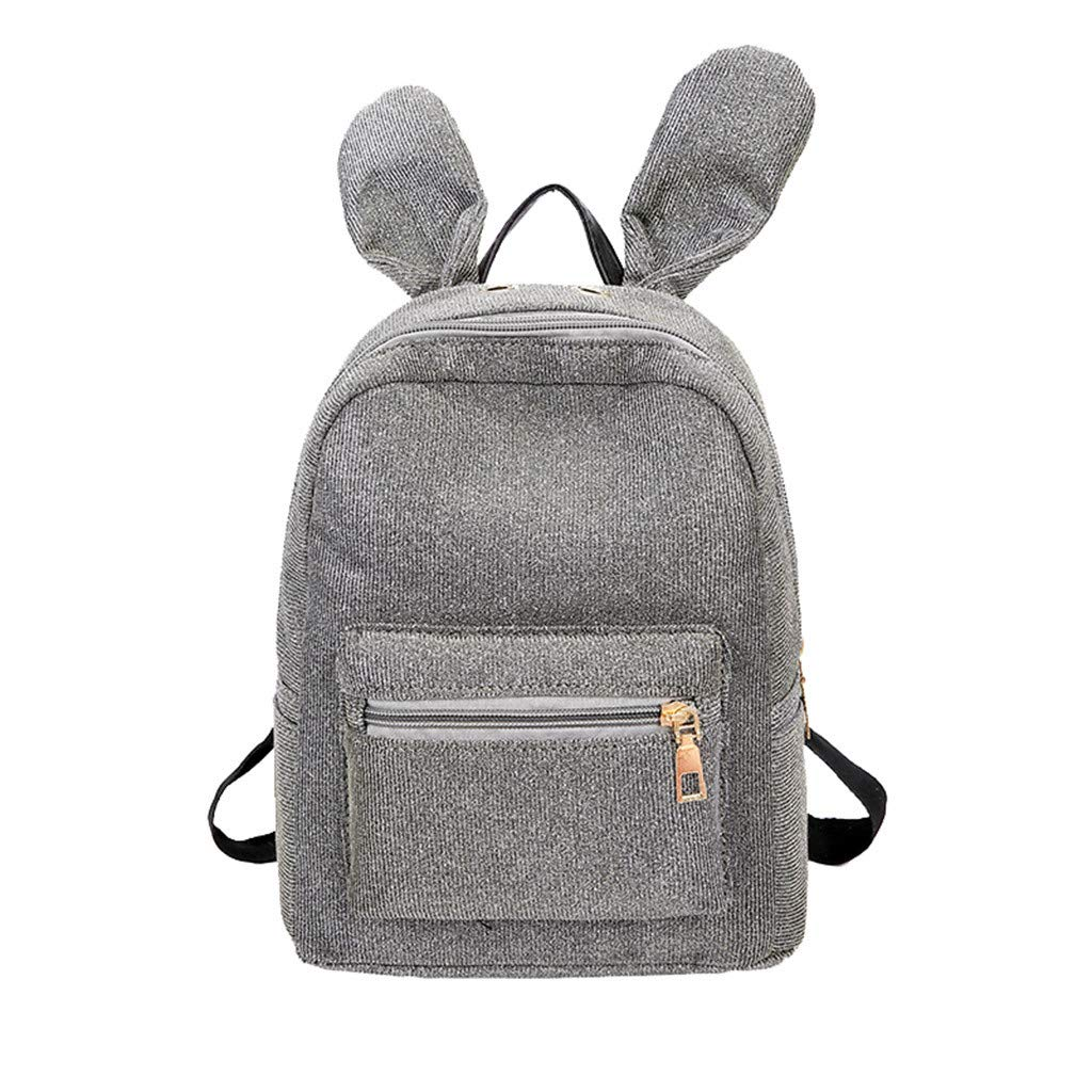 Fashion Lady Sequins School Backpack Satchel Girls Student Travel Shoulder Bag