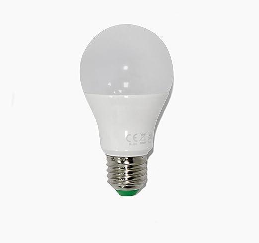 Bombilla estándar LED 11W. 3 intensidades de luz a golpe de clic (100%