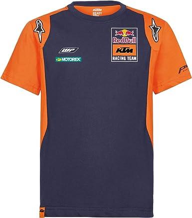 Red Bull KTM Official Teamline Camisa Polo, Azul Hombres Camiseta Manga Corta, KTM Factory Racing Original Ropa & Accesorios: Amazon.es: Ropa y accesorios