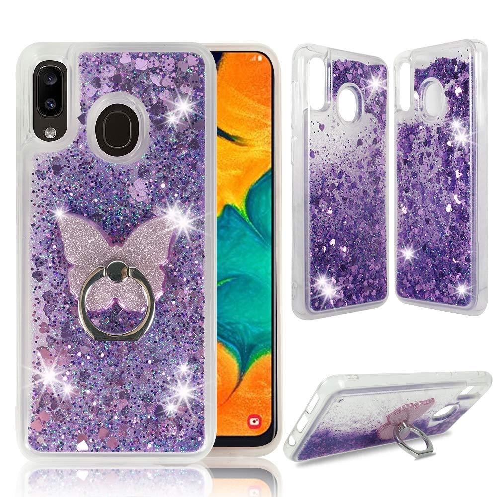 Funda Para Samsung Galaxy A20 / A30 Glitter Zase [7v2btpw3]