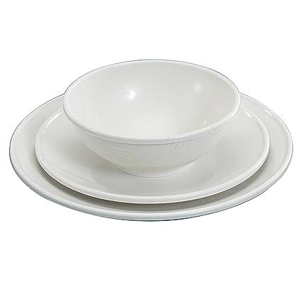 Nordic Ware Microwave 3 Piece Dinnerware Set  sc 1 st  Amazon.com & Amazon.com: Nordic Ware Microwave 3 Piece Dinnerware Set ...
