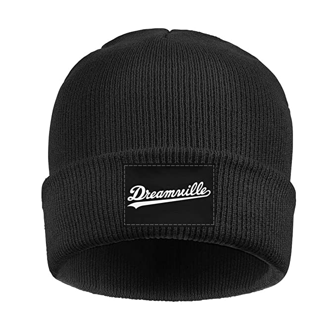 Beanies Hats for Men White-Dreamville-J-Cole- Soft Beanie Knit Cap ... 486d4921923