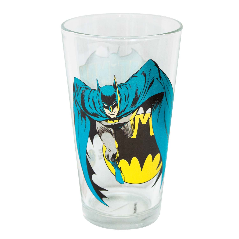 PopFun Batman Glass Toon Tumbler 16 oz
