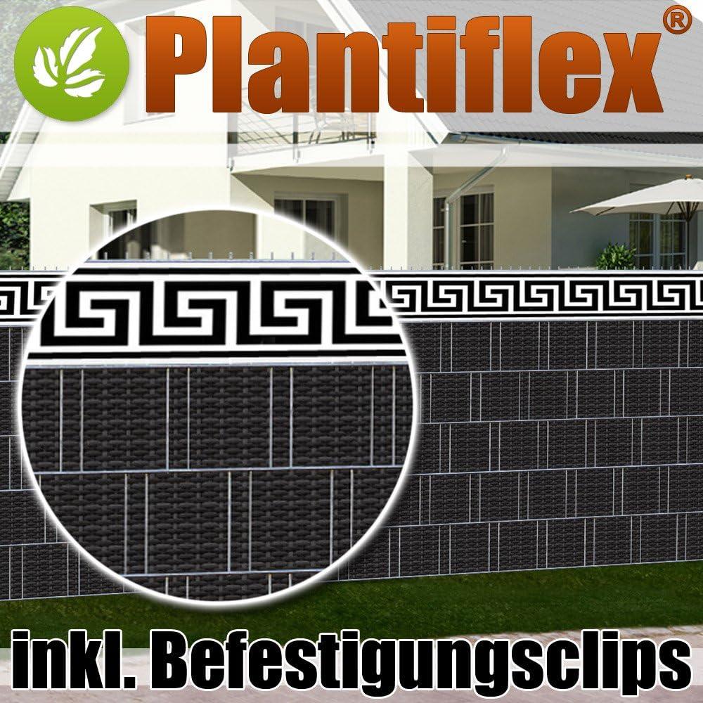 Amazon De Plantiflex Sichtschutz Rolle 35m Blickdicht Pvc