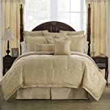 Marquis By Waterford Isabella, KING COMFORTER SET, Gold