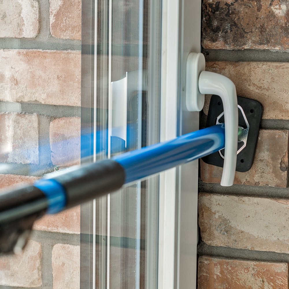 ALLEGRA Sicherungsstange Fenstersicherung Tü rsicherung Einbruchschutz Fensteralarm (100-175cm)
