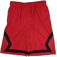 97a0a6bee Nike Boys Air Jordan Flight Diamond Basketball Shorts Red Black Black White  953296
