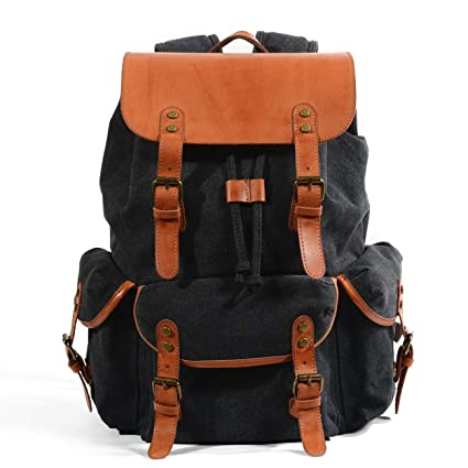 Amazon.com  Canvas Backpack a89620f3db017