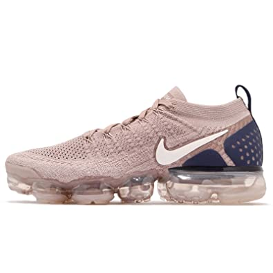 size 40 03b3f b25cc Nike Men's Air Vapormax Flyknit 2 Running Shoes (11, Tan/Navy)
