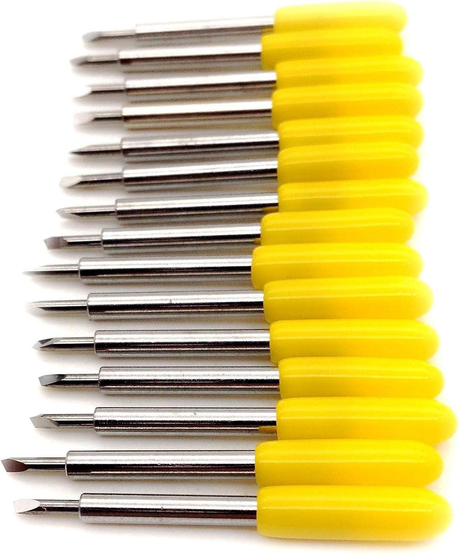 15pc 30 grados Roland Cuchillas Plotter Vinilo cortador cuchillo para Roland plotter de corte de Cricut: Amazon.es: Bricolaje y herramientas