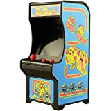 Ms Pac-Man Classic Tiny Arcade Game Palm Size w/ Authentic Sounds & Joystick