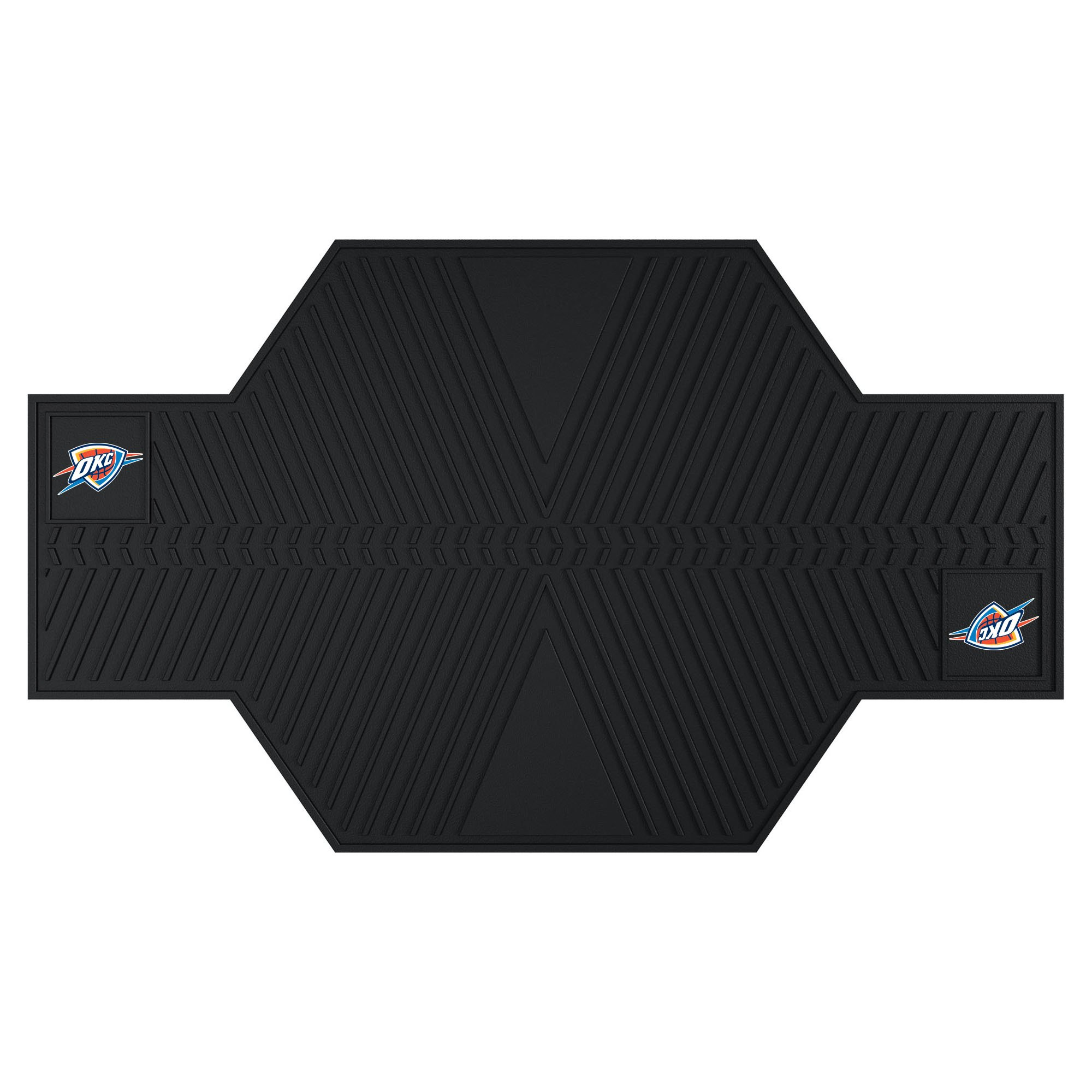 FANMATS 15389 NBA Oklahoma City Thunder Motorcycle Mat