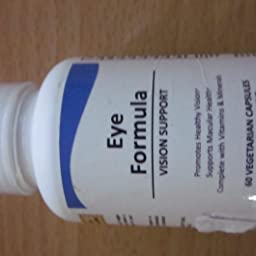 Pure Science Fórmula ocular - Luteína y zeaxantina mejoradas ...