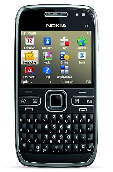 Amazon com: Nokia E72 Unlocked Phone Featuring GPS with