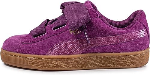Puma Suede Heart SNK 'Dark Purple