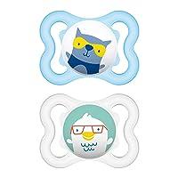 MAM Mini Air Pacifiers (2 pack), MAM Sensitive Skin Pacifier 0-6 Months, Best Pacifier...