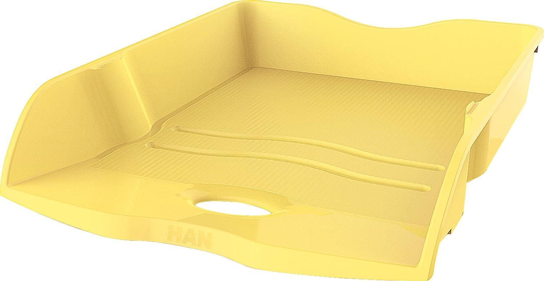 C4 F/ür Briefe /& Papiere bis Format A4 In modernem Design HAN Briefablage HAN LOOP 10290-85 in Jade Gr/ün Variabel stapelbare Papierablage 6 St/ück