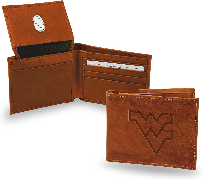 Rico Industries NCAA Alabama Crimson Tide Embossed Leather Billfold Wallet
