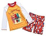 Toddler Boys Long Sleeve Rashguard Set Cartoon UPF