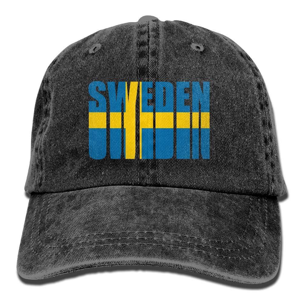 6fcfc06b344 Amazon.com  QQQWZH-A Retro Flag of Sweden Baseball Jean Cap  Clothing