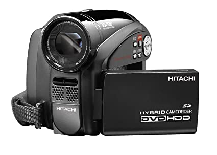 hitachi dzhs500a dvd hybrid camcorder with 30x optical zoom 30gb rh amazon ca Hitachi Bx35a Manual Hitachi VM E55a