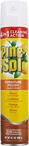 Pine-Sol Furniture Polish   Wood Furniture Polish Spray   Wood Polish Spray for Your Furniture Gives You A Powerful Clean You Can Trust   12.7 Oz, Lemon Scent