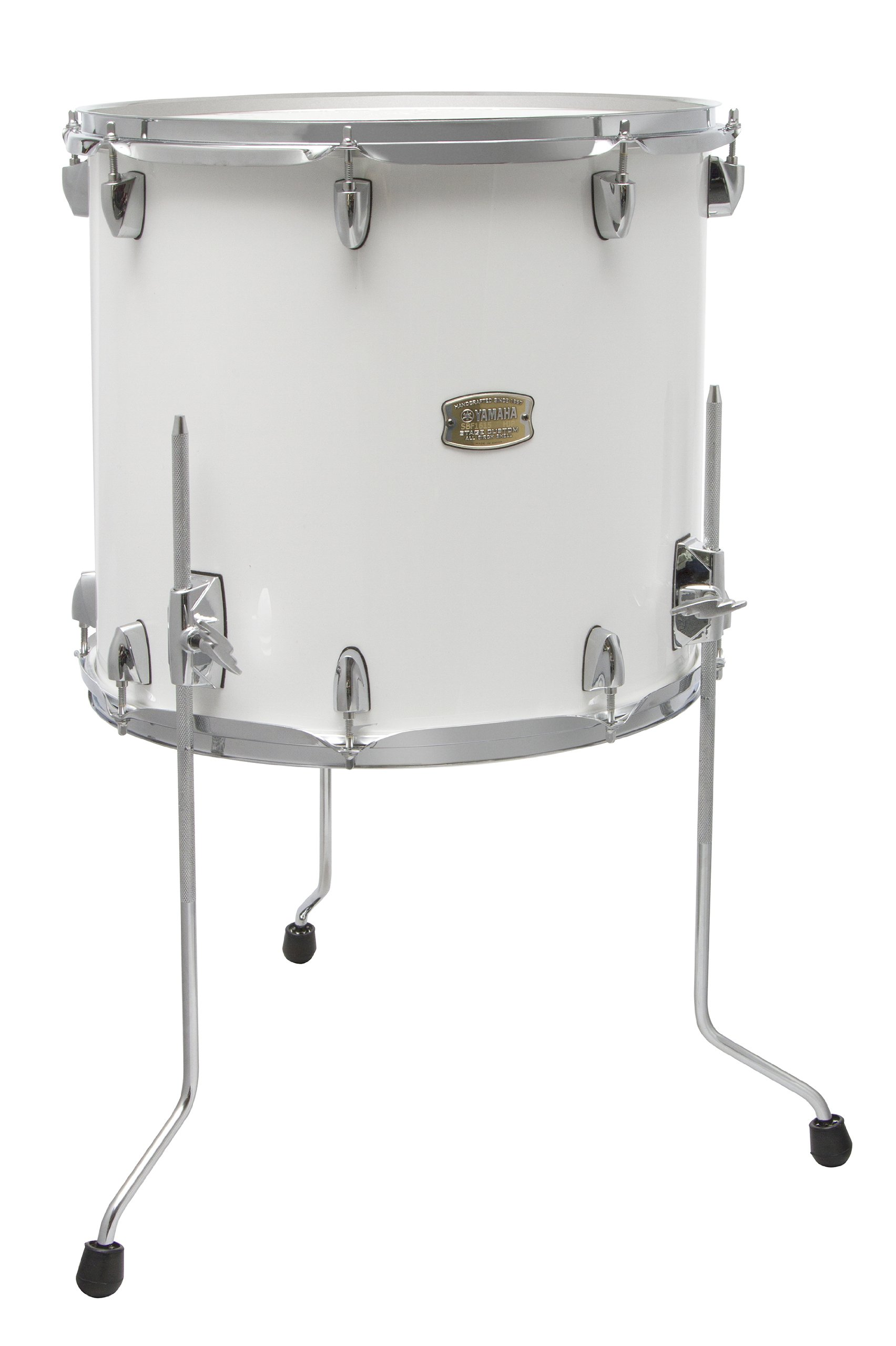 Yamaha Stage Custom Birch 18x16 Floor Tom, Pure White