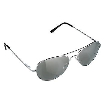 Ultrasport Aviator Lunettes de soleil mixte adulte Argent Verres miroirs c5cbbca72474