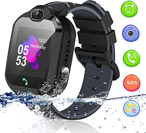 Amazon.com: Kids Smart Watch, Smartwatch for Kids with Voice ...