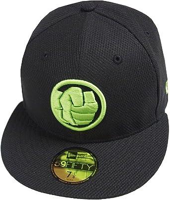 New Era Hulk Diamond Era Black Cap 59fifty 5950 Fitted Basecap Kappe Men  Special Limited Edition 9da5bc75a50