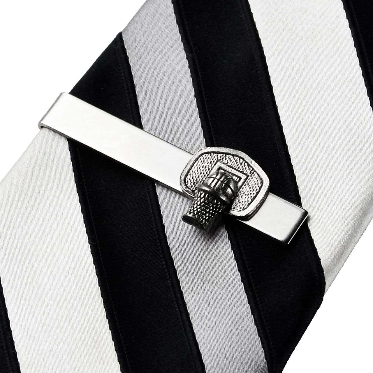 Quality Handcrafts Guaranteed Basketball Tie Clip