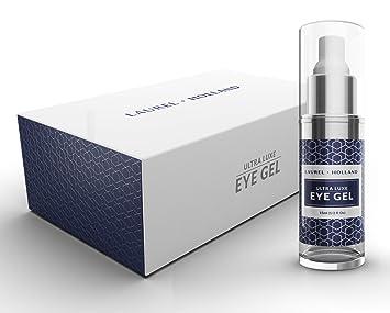 Amazon.com: Ultra Luxe Gel de ojos – Crema revitalizante Gel ...