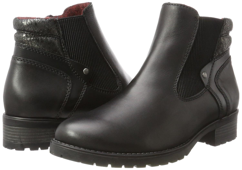 Remonte Damen D8275 Schwarz Chelsea Stiefel, Schwarz D8275 (Schwarz/Graphit 01) 2bc492