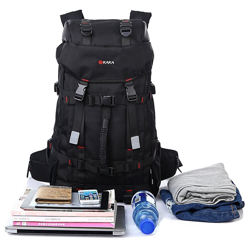 BlueField Travel Backpack Sports Bag Gym Bag Hiking Bag Camping Bag Work Bag Book Bag College Bag Weekend Bag