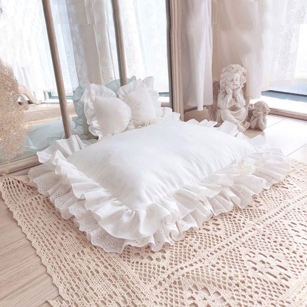 G 60x70x5cm G 60x70x5cm Pet House Luxury Soft Fabric, Pet Bed Princess Style, Pet Cat Bed Detachable Washable, Pet Sleeping Bag Foldable Four Seasons Available,G,60x70x5cm