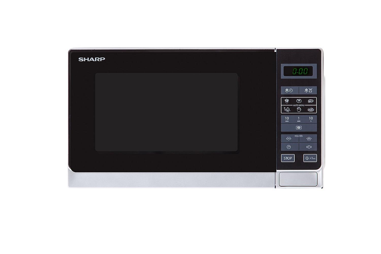 Sharp Electronics (Europe) GmbH R-242 WW QQQQQQQQQQQ, 800 W, 20 litros, Color blanco
