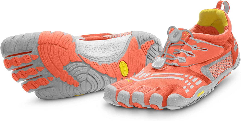 Vibram Fivefingers Escarpines Fitness KMD Sport LS Coral/Gris EU 36: Amazon.es: Zapatos y complementos
