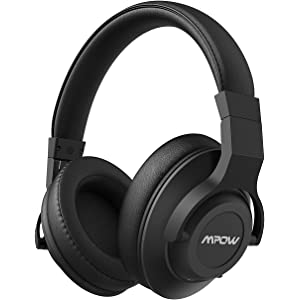 Mpow H12 Active Noise Cancelling Bluetooth Headphones, ANC Over Ear Headphones w/Mic,