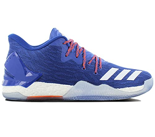 buy popular 295bc fb288 adidas D Rose 7 Low, Zapatillas de Deporte para Hombre, Negro  (Negbas Negbas   Ftwbla), 50 EU  Amazon.es  Zapatos y complementos
