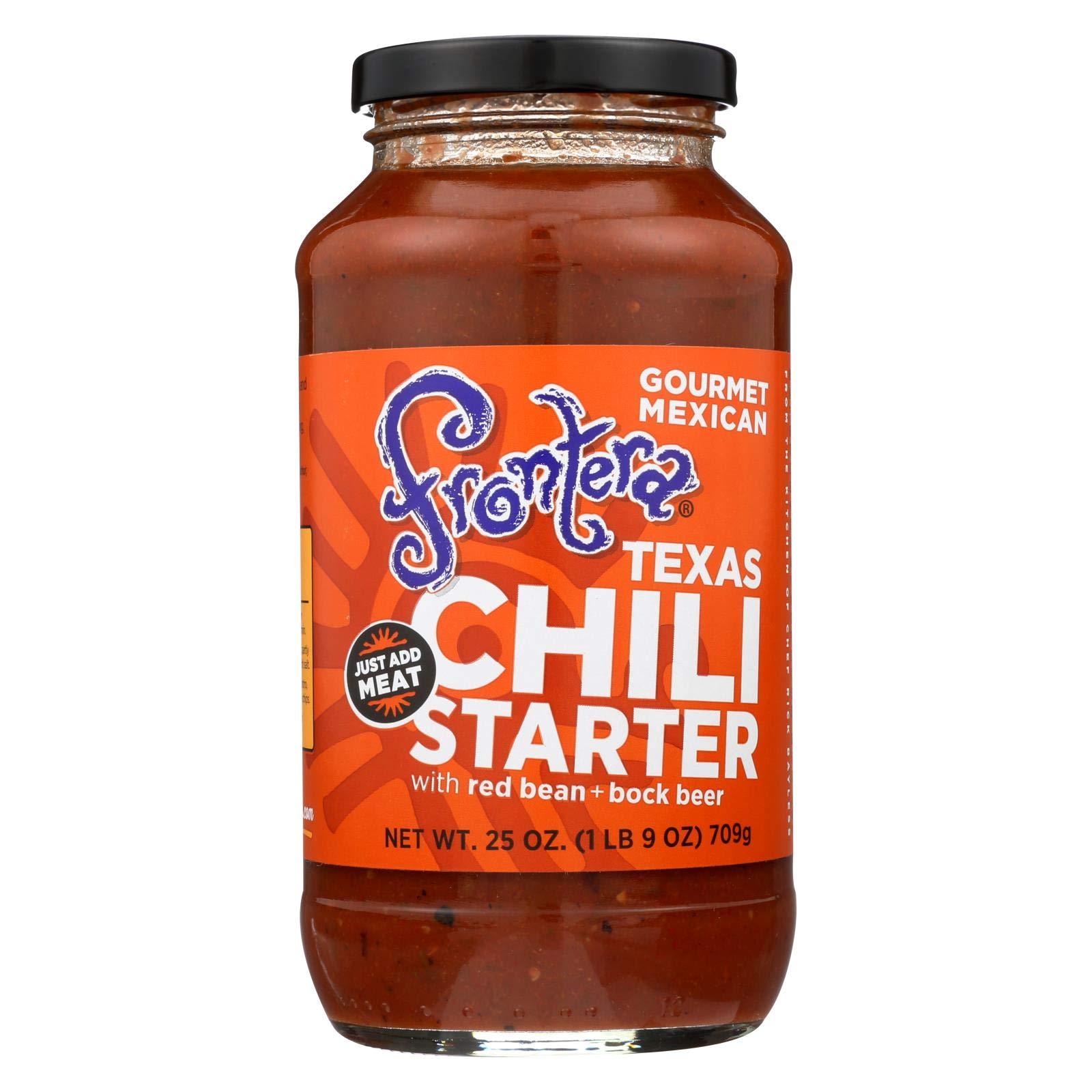 Frontera All Natural Texas Chili Starter, 24 Ounce (Pack of 6) by Frontera Foods