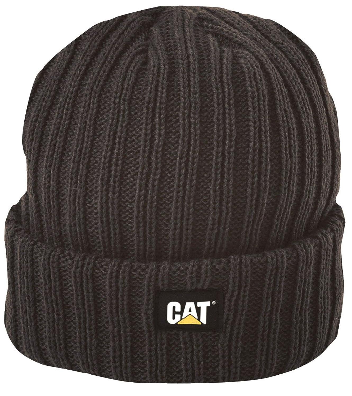 (キャタピラー) Caterpillar C443 メンズ リブニット ニット帽