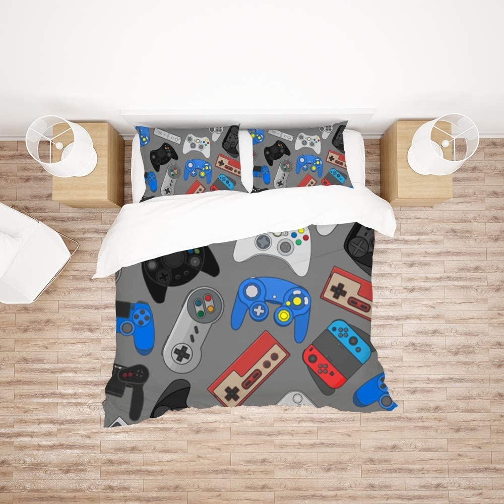 Find Sun Video Game Controller Cover Set Duvet Bedding free Finally popular brand Twin