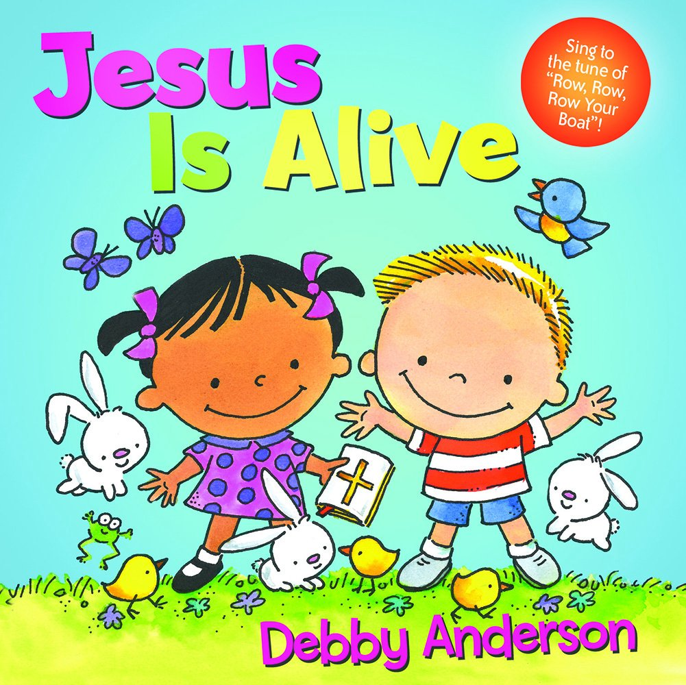 amazon com jesus is alive cuddle and sing series 9781434711151