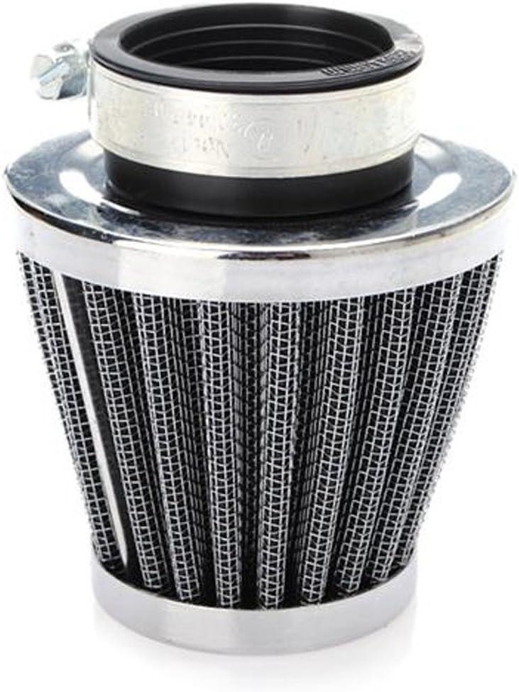 Supmico 2 X 54mm Filtre /à Air Froid Reniflard Carter Turbo Ventilateur pour Voiture Moto Nettoyeur de Champignon