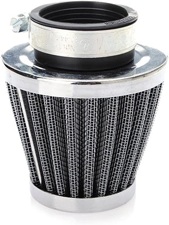 HOUTBY 4Pack 35mm Universal Car Motorcycle Cone Cold Clean Air Intake Filter Turbo Vent